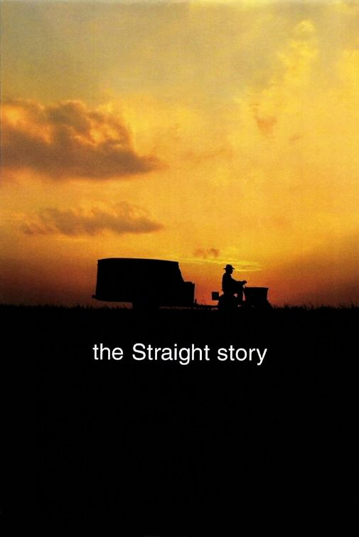 "Poster for the movie ""The Straight Story"""