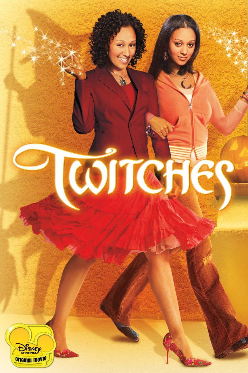 "Poster for the movie ""Twitches"""