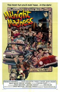 "Poster for the movie ""Midnight Madness"""
