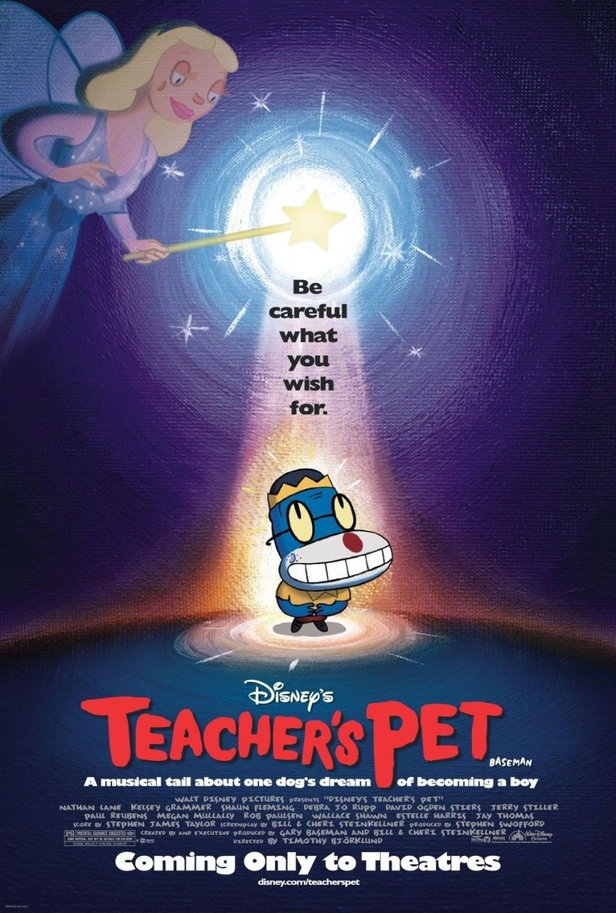 "Poster for the movie ""Teacher's Pet"""