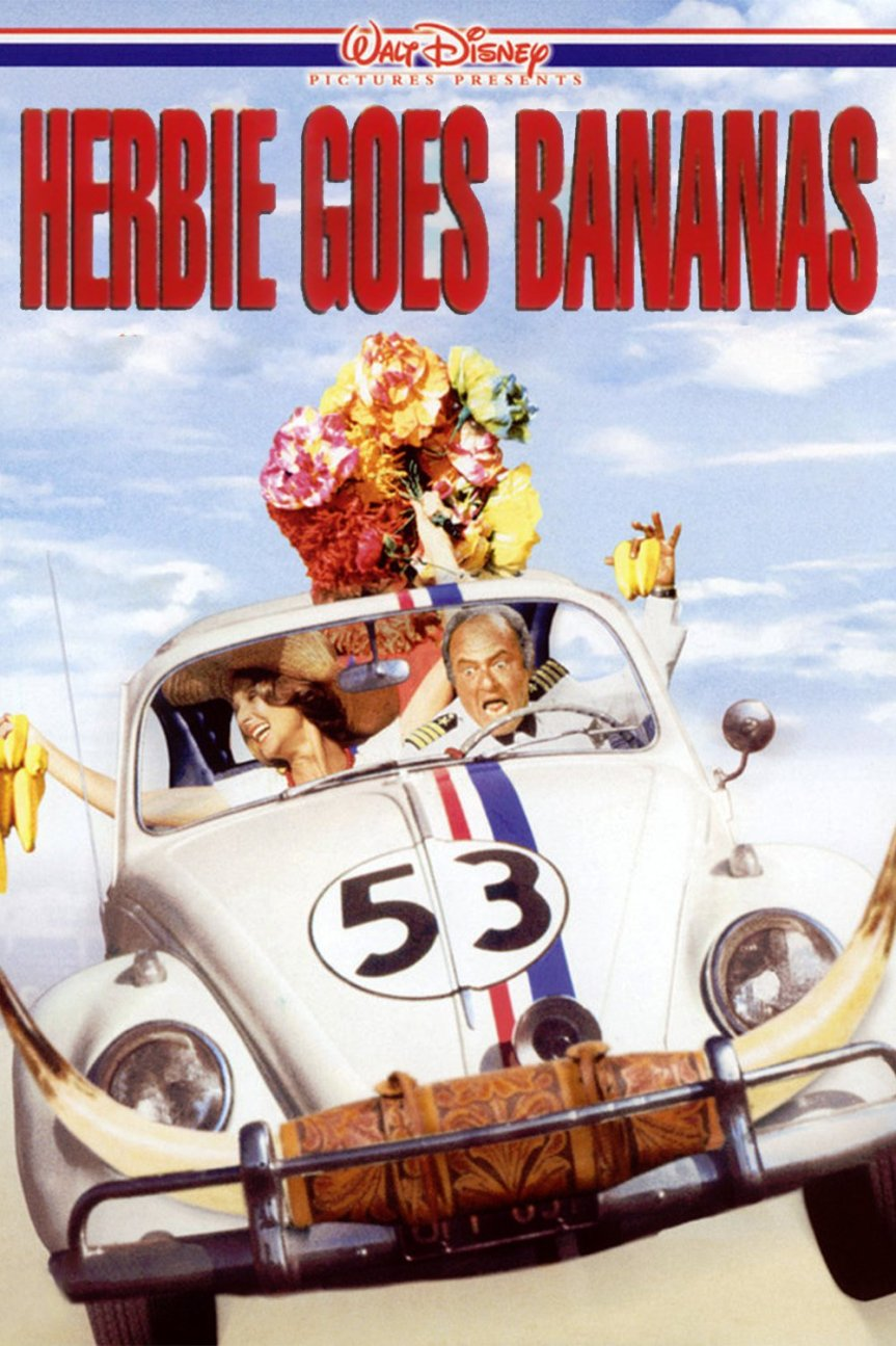 """Poster for the movie """"Herbie Goes Bananas"""""""