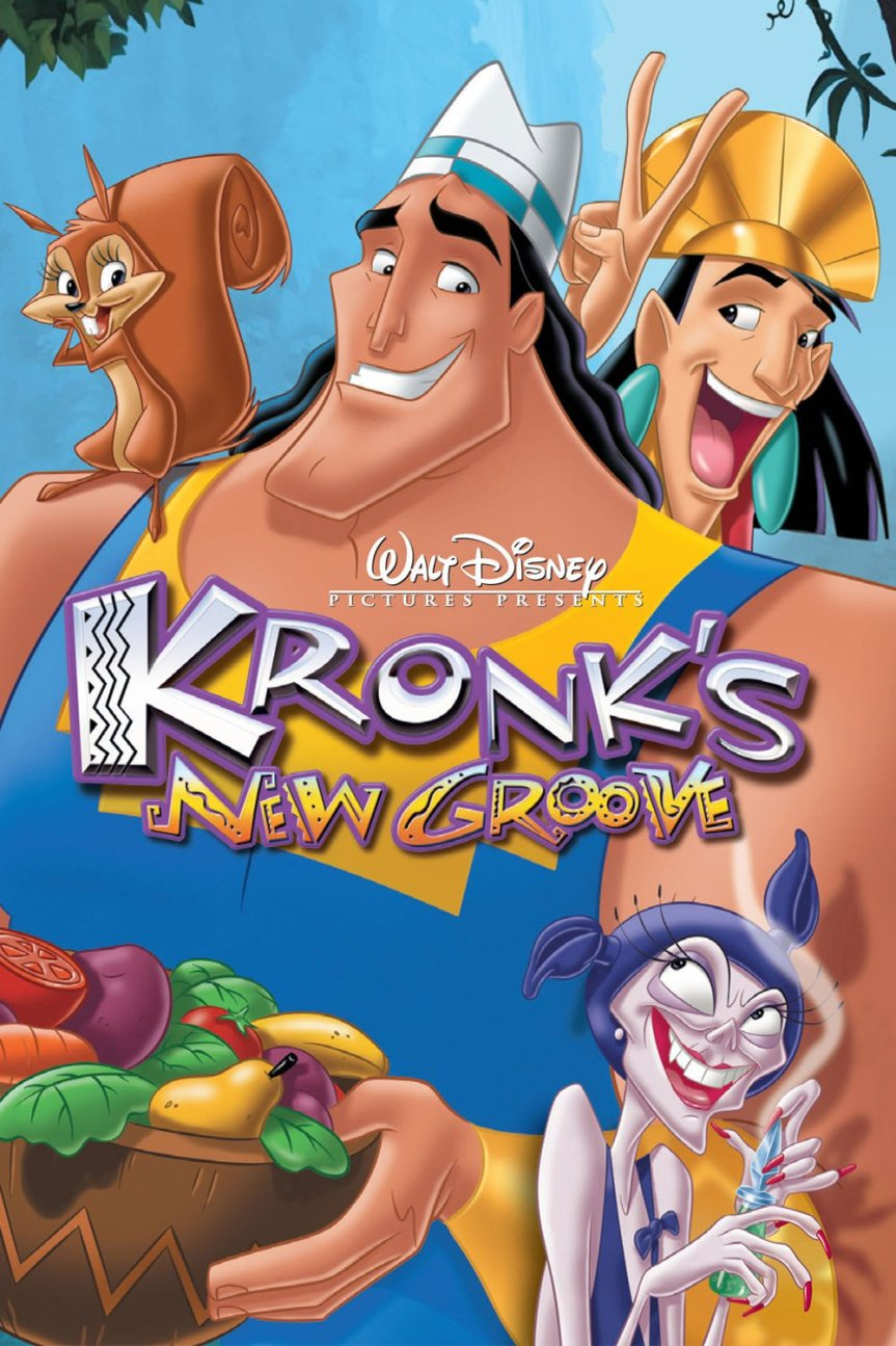 "Poster for the movie ""Kronk's New Groove"""