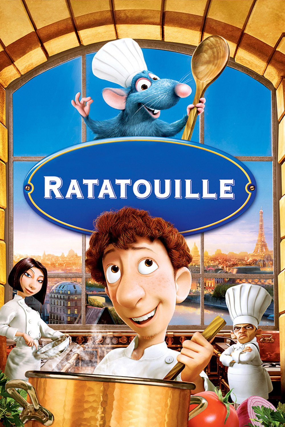 DISNEY RATATOUILLE POSTER He/'s Dying to Become a Chef