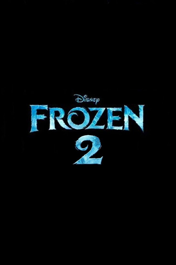"Poster for the movie ""Frozen 2"""