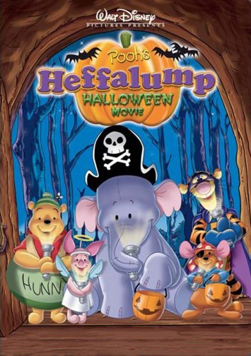 "Poster for the movie ""Pooh's Heffalump Halloween Movie"""