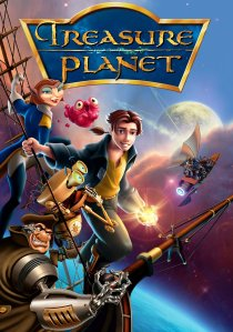 "Poster for the movie ""Treasure Planet"""