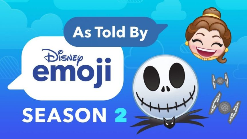 """List of Episodes for Disney Web Series """"As Told by Emoji"""" (Season 2)"""