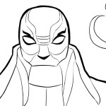 Yokai – Big Hero 6 Coloring Pages