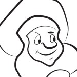 Baker – Beauty and the Beast Coloring Pages