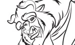 Beast - Beauty and the Beast Coloring Pages