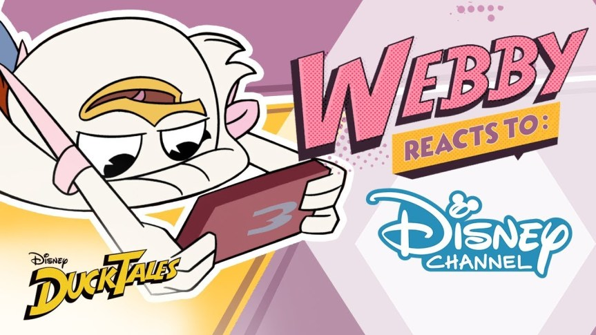 "List of ""Ducktales: Webby Reacts"" Online Short Video Episodes"