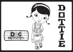 Dottie – Doc McStuffins Coloring Pages
