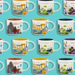 "List of Designs for Disney ""You Are Here"" Souvenir Mugs from Starbucks on shopDisney"
