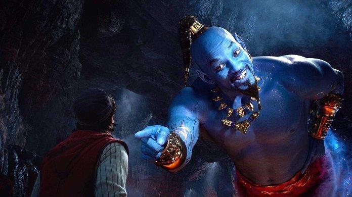 "Fans Slam First ""Aladdin"" Remake Trailer Showing Genie Will Smith"