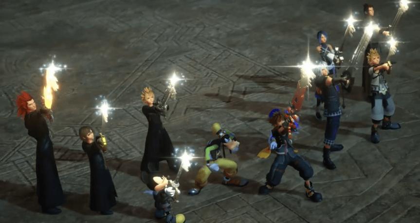 "List of Heroic Keyblade Wielders Active in Square-Enix's ""Kingdom Hearts III"""