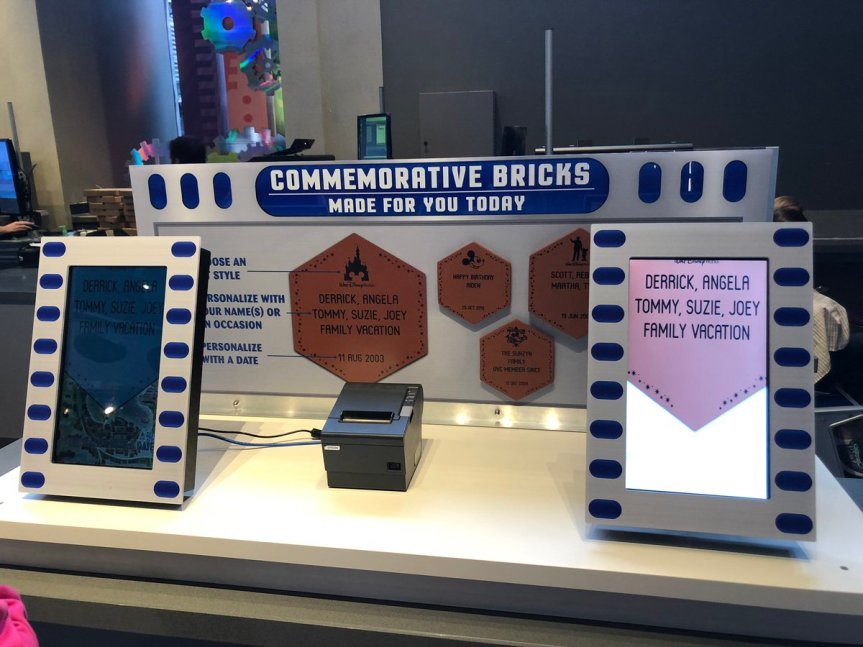 "Disney World to Create Commemorative Bricks for to-be-Dismantled ""Walk Around the World"" Attraction, for Original Sponsors and Collectors"