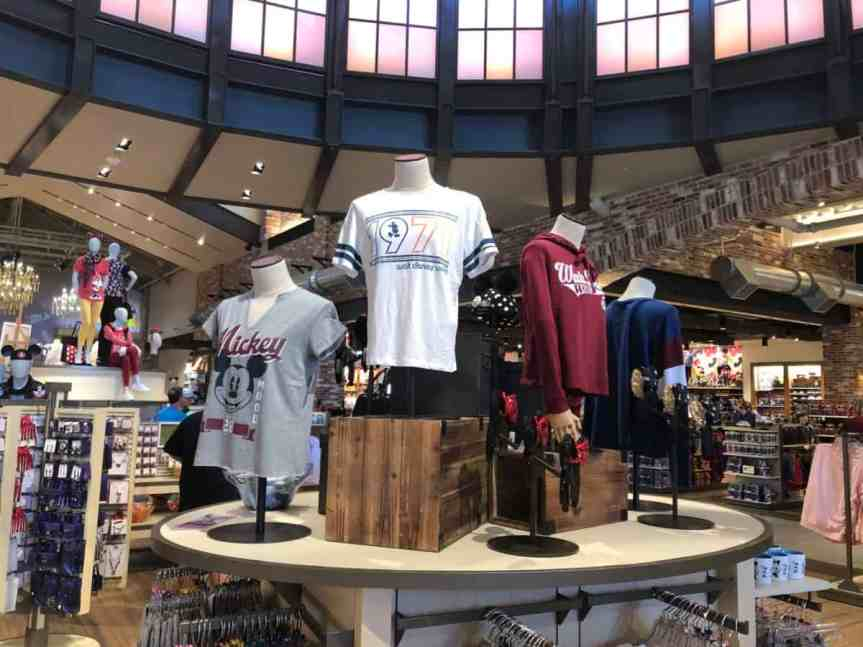 Vintage-Style Disney Apparel Available in Both Disneyland and Disney World Shopping Districts