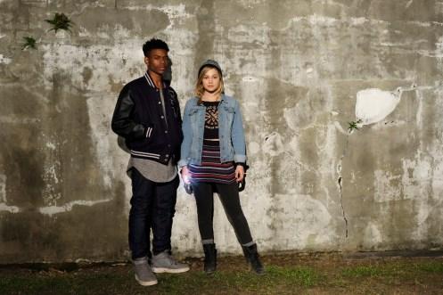 "MARVEL'S CLOAK & DAGGER - Freeform's ""Marvel's Cloak & Dagger"" stars Aubrey Joseph as Tyrone Johnson/Cloak and Olivia Holt as Tandy Bowen/Dagger. (Freeform/Alfonso Bresciani)"