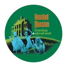 Haunted Mansion attraction disc