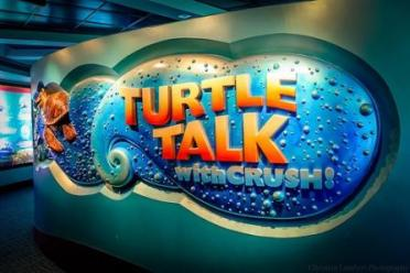 turtle talk with crush finding dory epcot