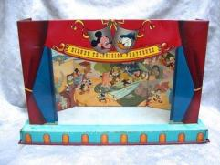 1950'S Walt Disney Productions Tin LIithograph DISNEY TELEVISION PLAYHOUSE Toy