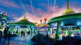 Buzz LIghtyear Toy Story Land
