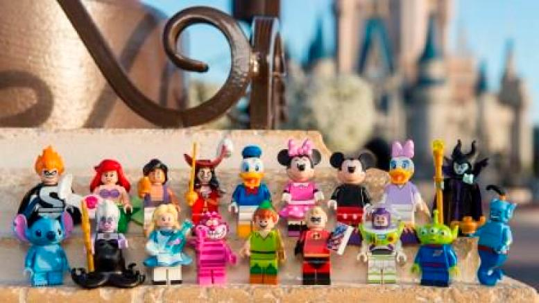 new LEGO Disney Minifigures 2016