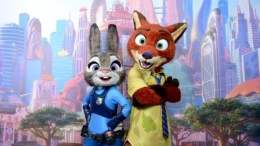 Zootopia Disney California Adventure