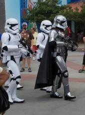 star wars characters disney world