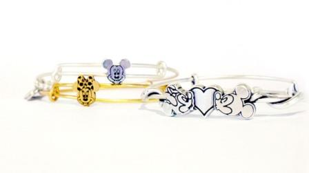 mickey mouse minnie mouse alex and ani disney bangles