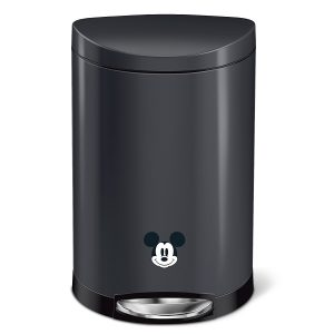 simplehuman Semi-round Step Trash Can, Disney Mickey Mouse Special Edition
