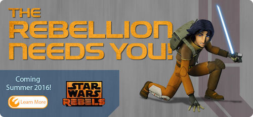 Disney World Star Wars Rebels Interactive Adventure