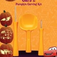 Disney Cars 2 Pumpkin Carving Kit
