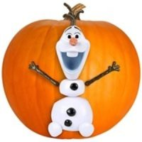 Disney Frozen Olaf Pumpkin Push In