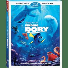 Finding Dory DVD Blu Ray