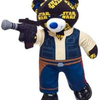 Han Solo Build-a-Bear with Blaster
