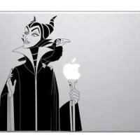 Maleficent Witch Macbook Vinyl Sticker Laptop Skin