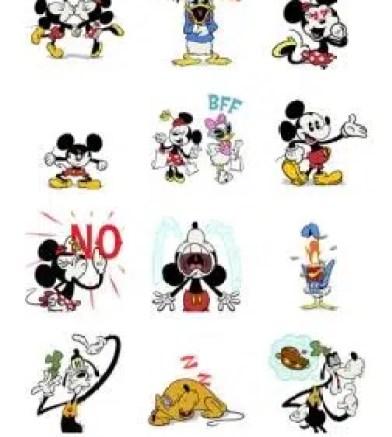 disney stickers imessage