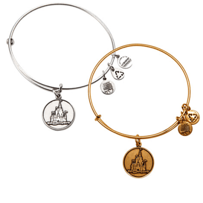 Cinderella Castle Bangle by Alex and Ani