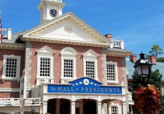 magic kingdom trump hall of presidents closed