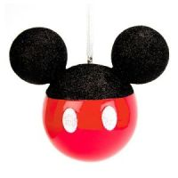 Mickey Mouse Ears Christmas Ornament