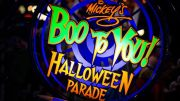 Disney World's Mickey's Not-So-Scary Halloween Party 2017 Mickey's Boo-to-You Parade