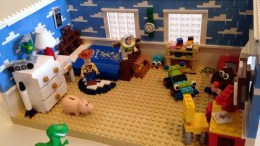 LEGO Toy Story Set of Andy's Room