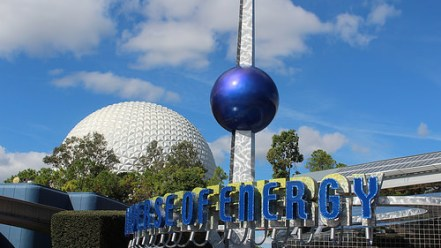 epcot attraction ellen energy adventure photo