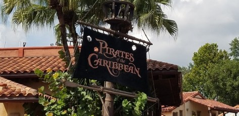 disney world pirates of the Caribbean ride