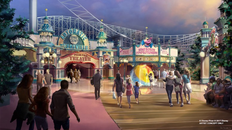 pixar pier disneyland changes