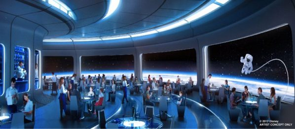 new mission space restaurant epcot