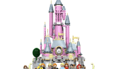 sleeping beauty castle lego set