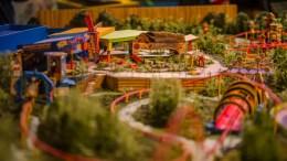 toy story land model hollywood studios