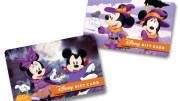disney halloween gift card